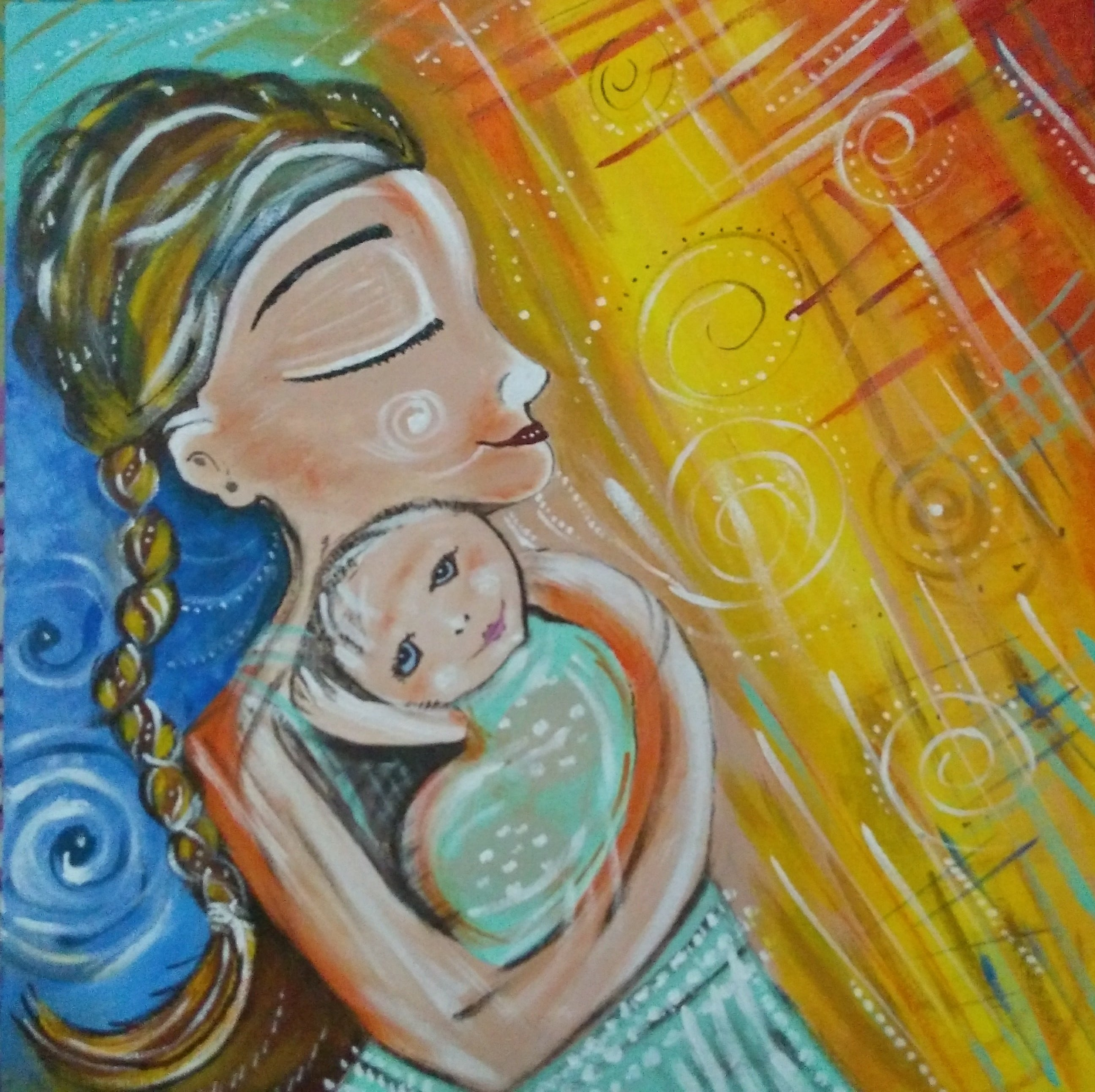 Mother's Love Fine Art