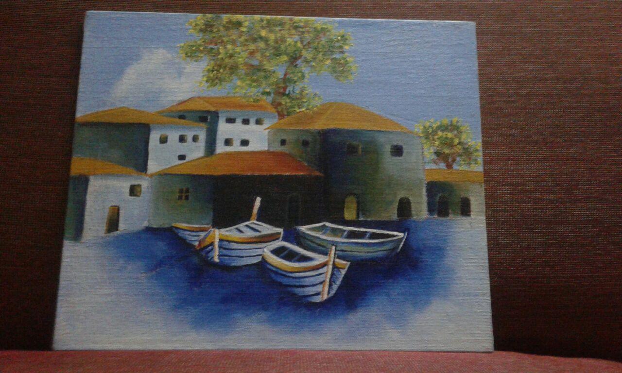 Chimbai Painting Fine Art by Vidhi Nandu