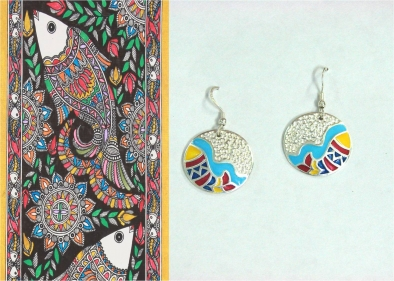THE Madhubani Fish Jewelry