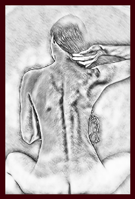 Naked and Erotic Sketch  Fine Art