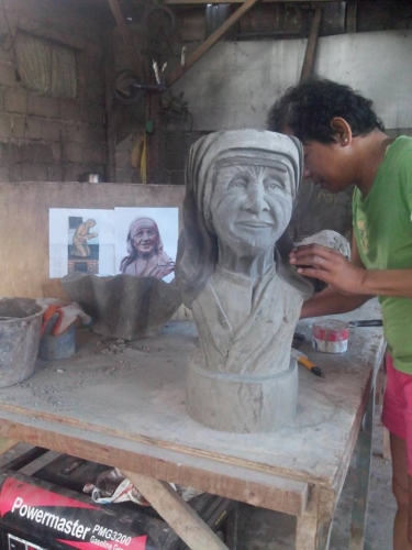 Mother Teresa  Sculpture