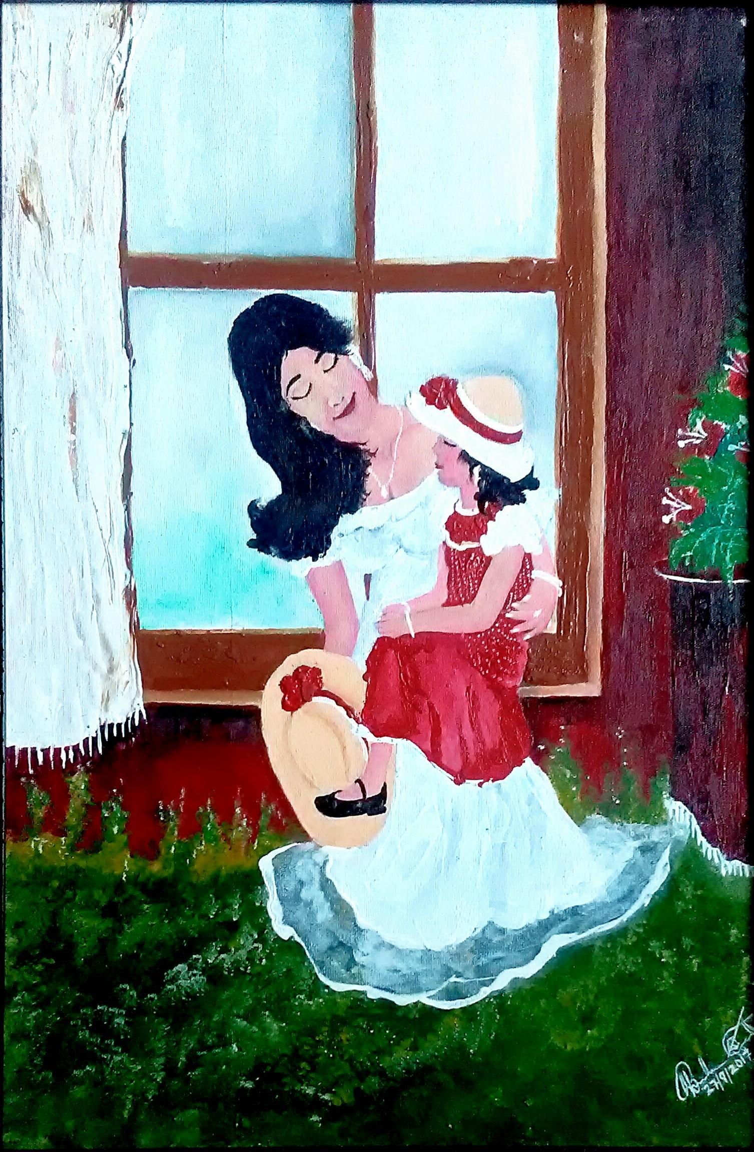 Mother's loveFine Art