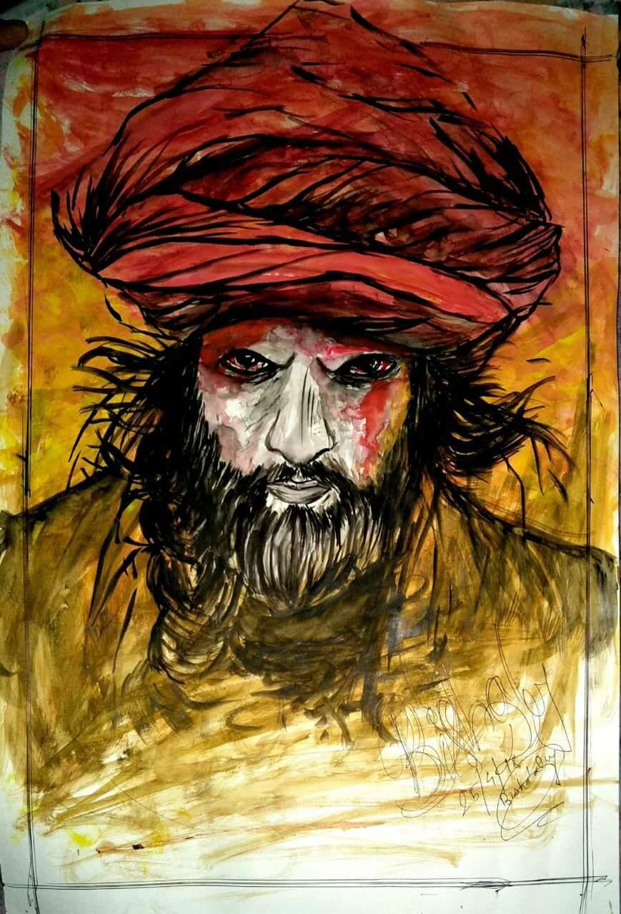 Ranveer Singh Portrait  Fine Art