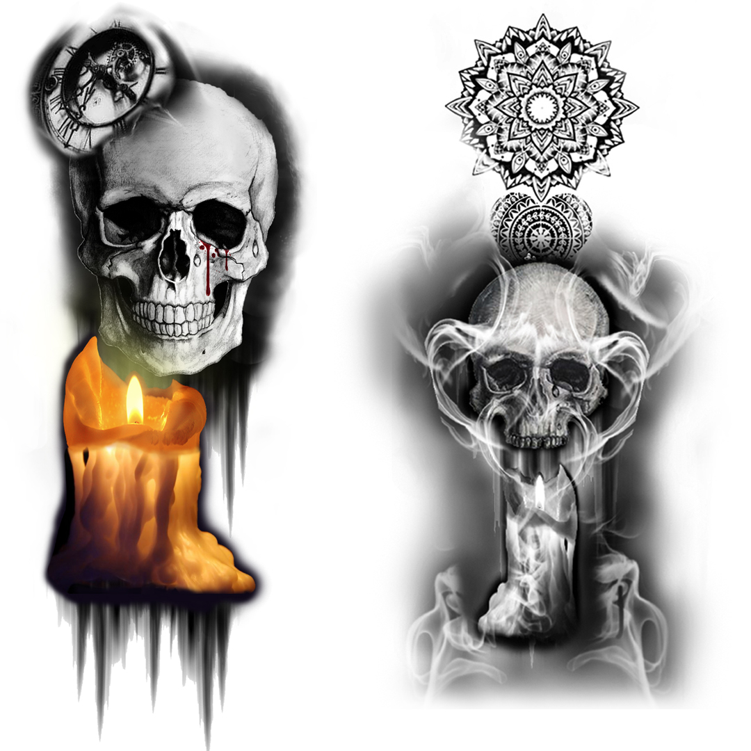 Custom Tattoo Design  Digital Art