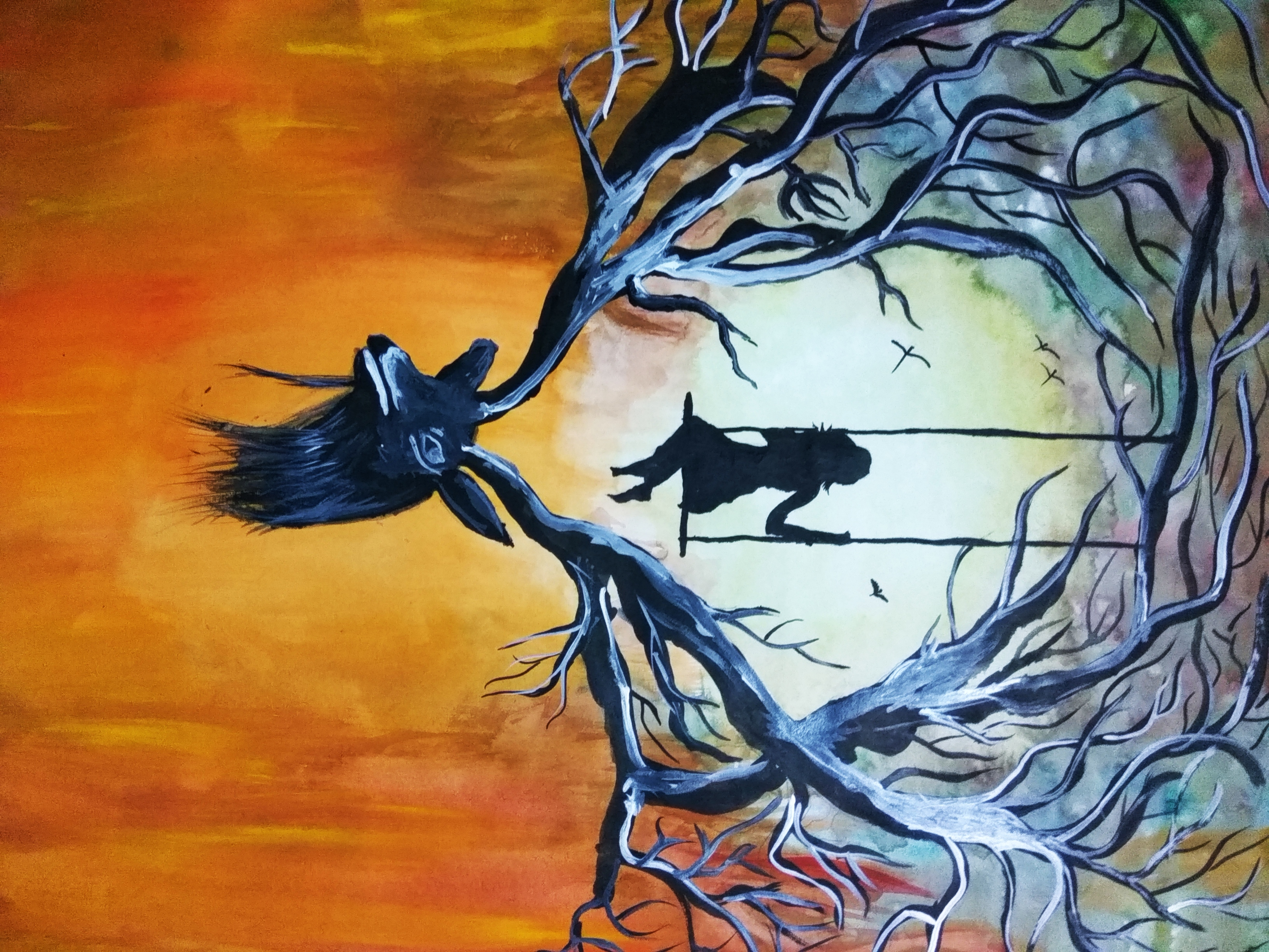 Let Me Fly High Fine Art Painting