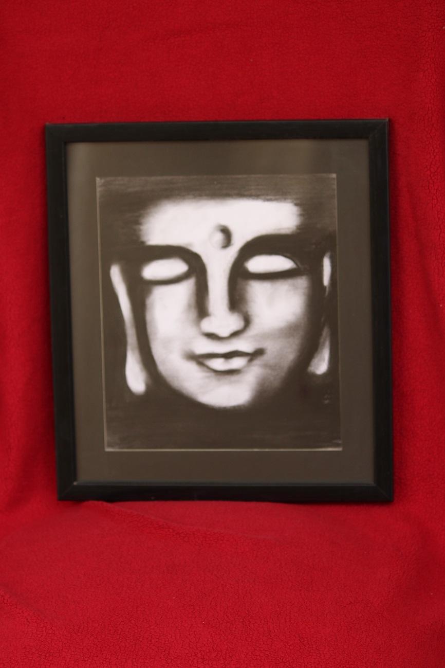 Buddha Sketch Fine Art by Prashant Sharma
