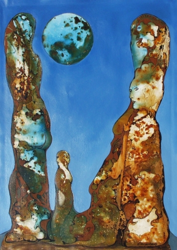 Big Rock Figures Fine Art