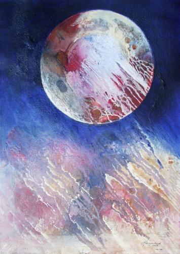 Planet in Dissolut Fine Art by Heinz Sterzenbach