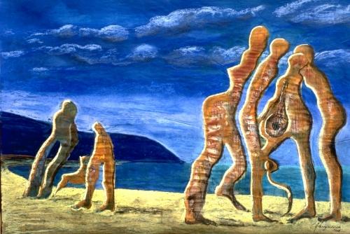 Beach Promenade Fine Art