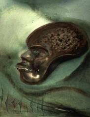 African Mask Fine Art
