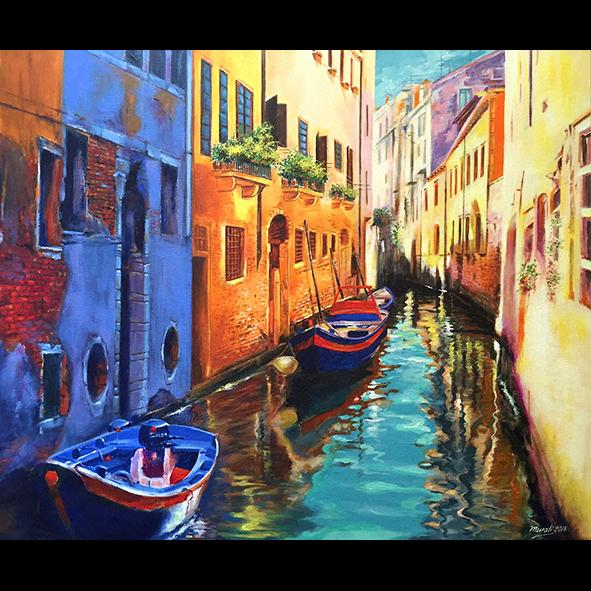 Venice-Reflection Fine Art
