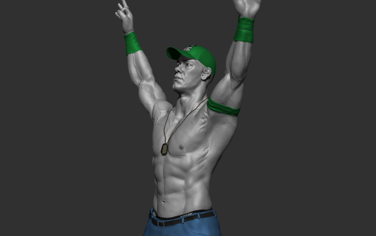 John Cena Game Character Digital Art