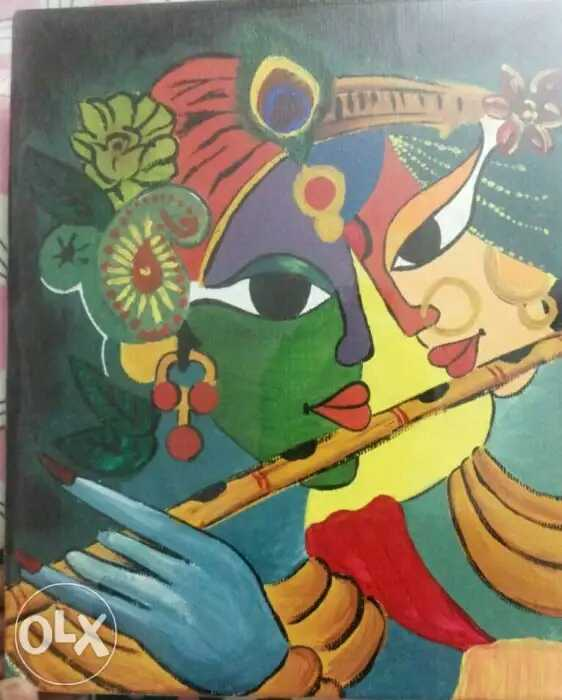 Never Ending Love - Radha Krishna  Fine Art by Neelima Singh