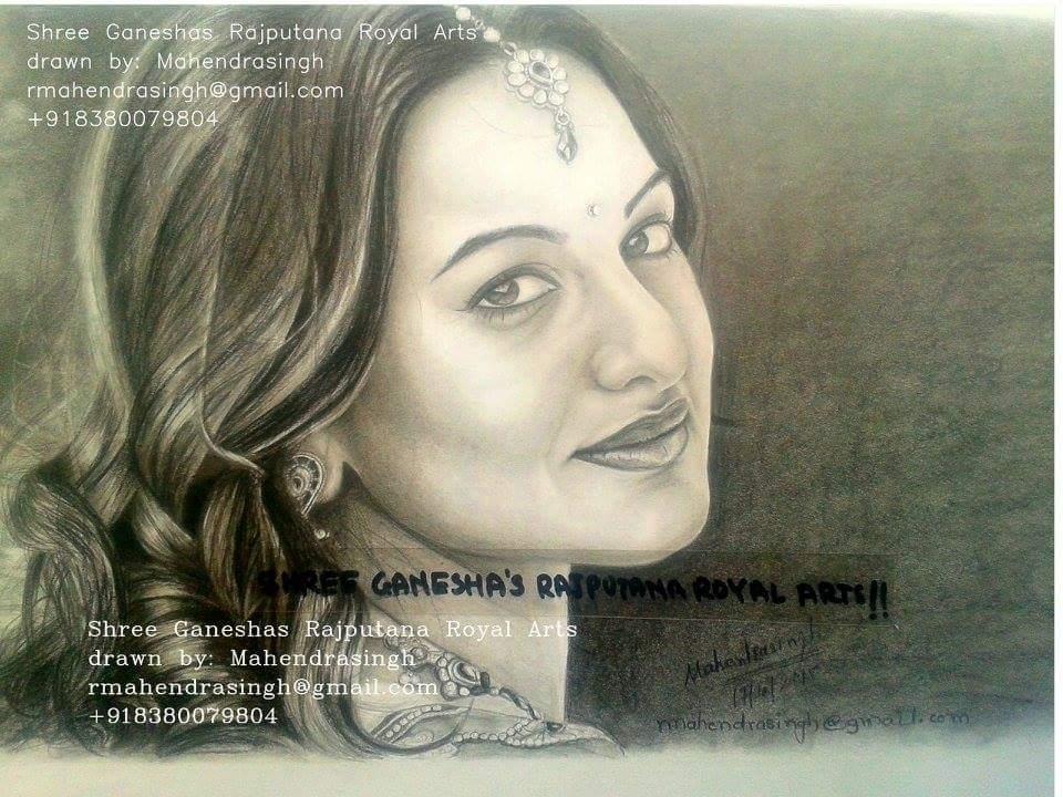 Sonakshi Sinha Fine Art