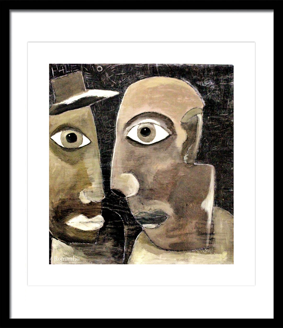 Guapos De Palermo Painting Fine Art
