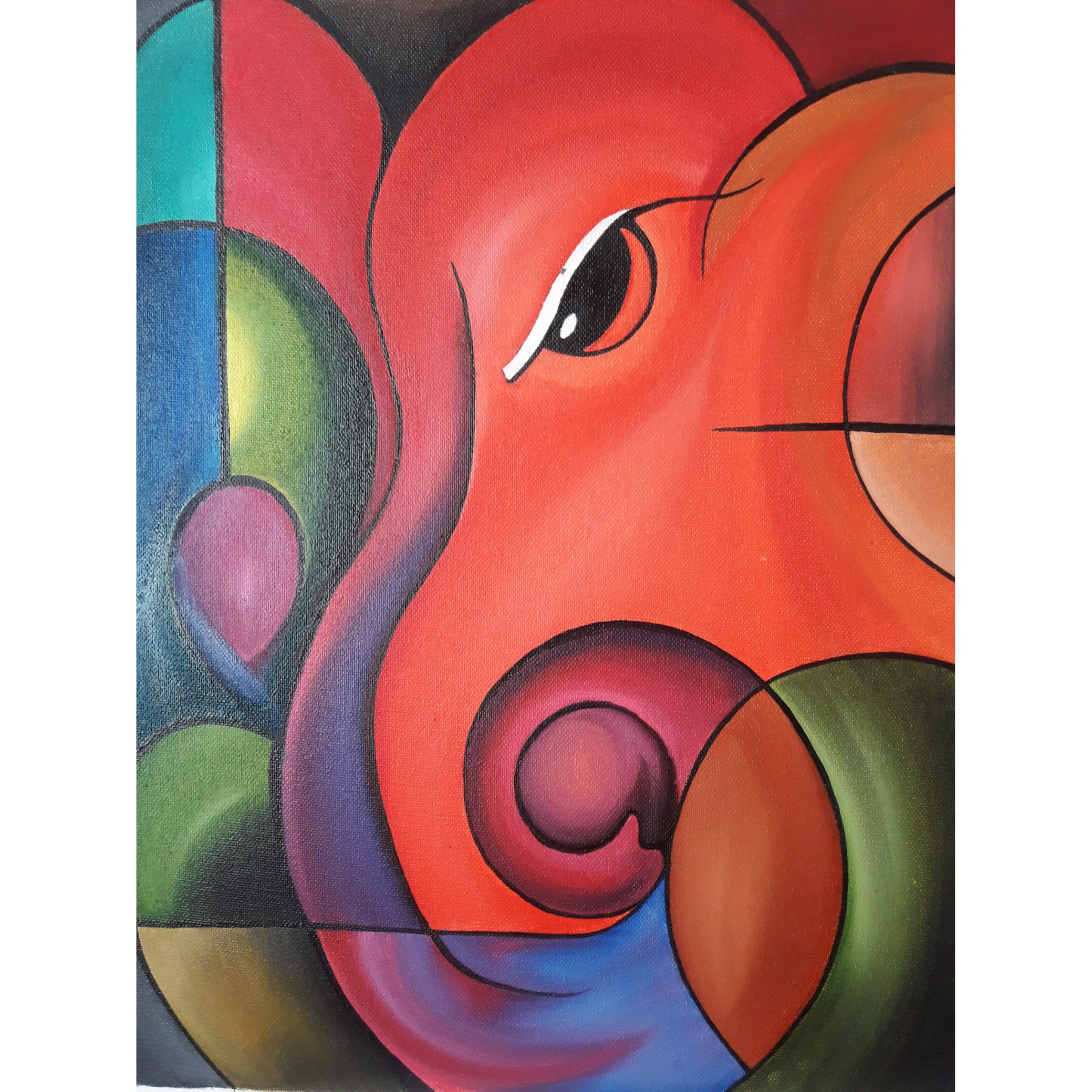 Lord Ganesha Painting Fine Art