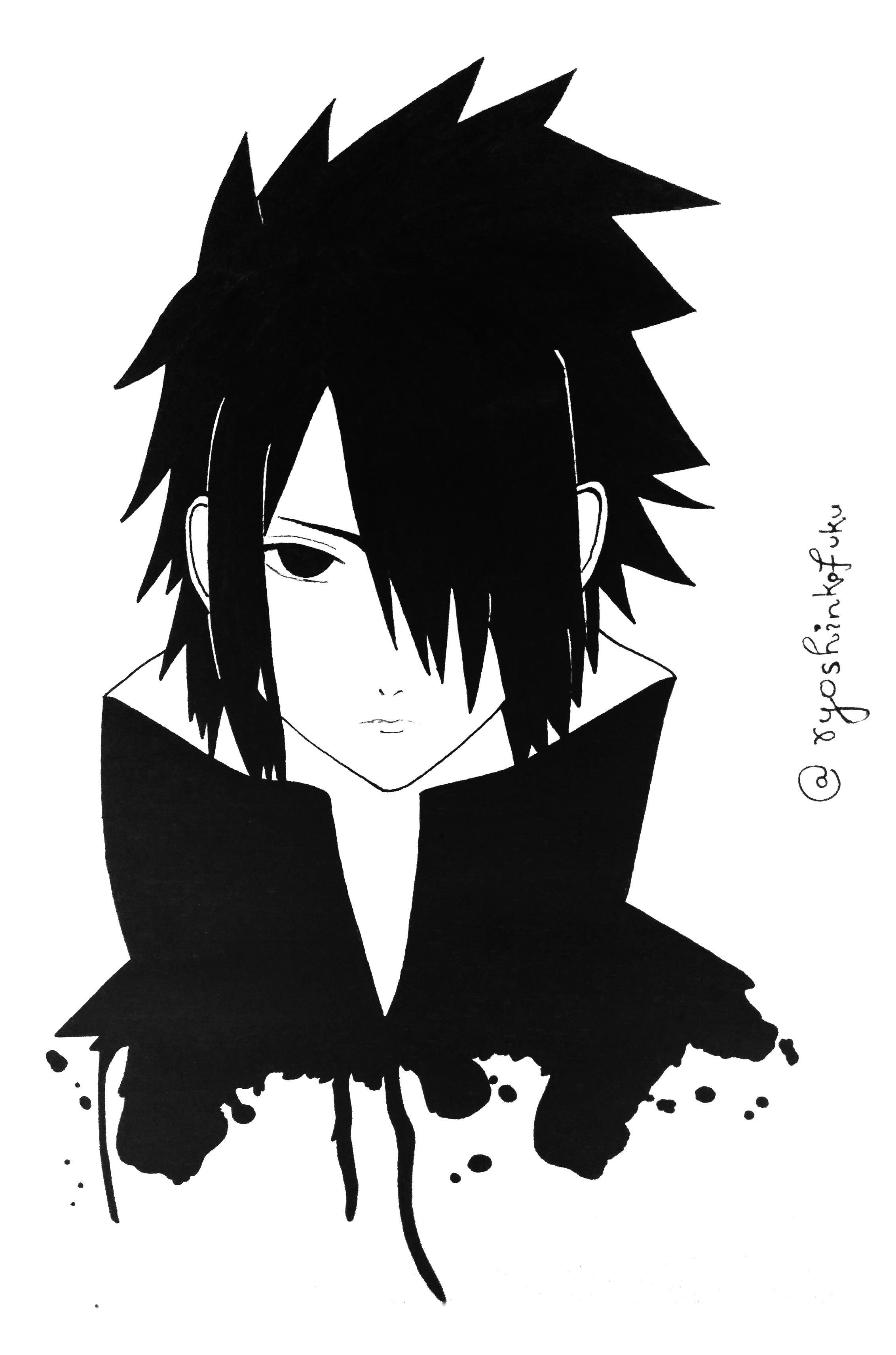 Sasuke Uchiha Fine Art