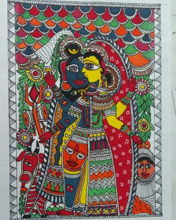 Madhubani Painting Fine Art