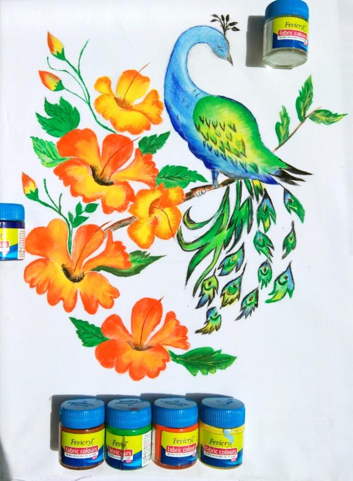 Fabric Painting Fabric Art