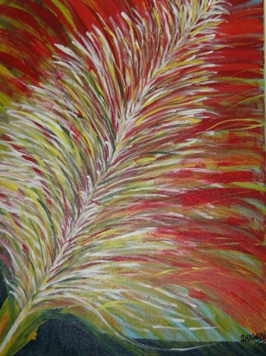 Abstract Feather Fine Art