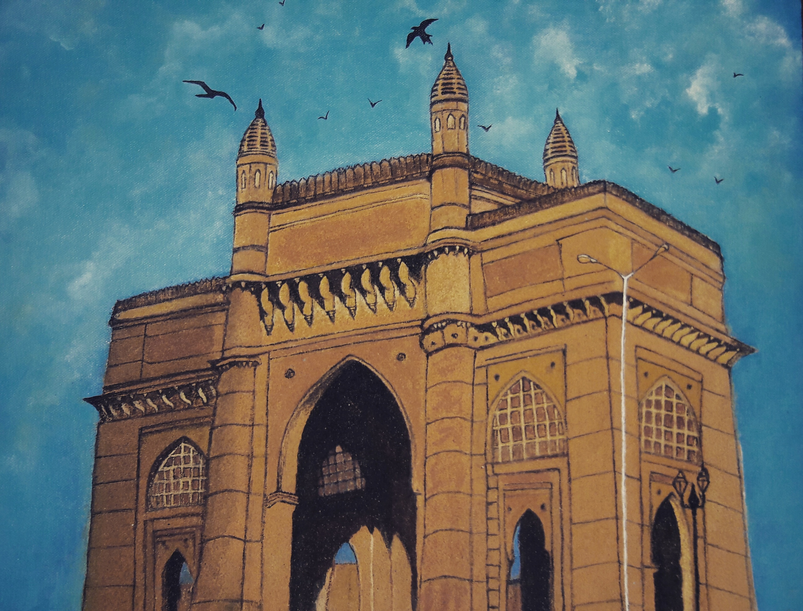 Gateway Of India  Fine Art