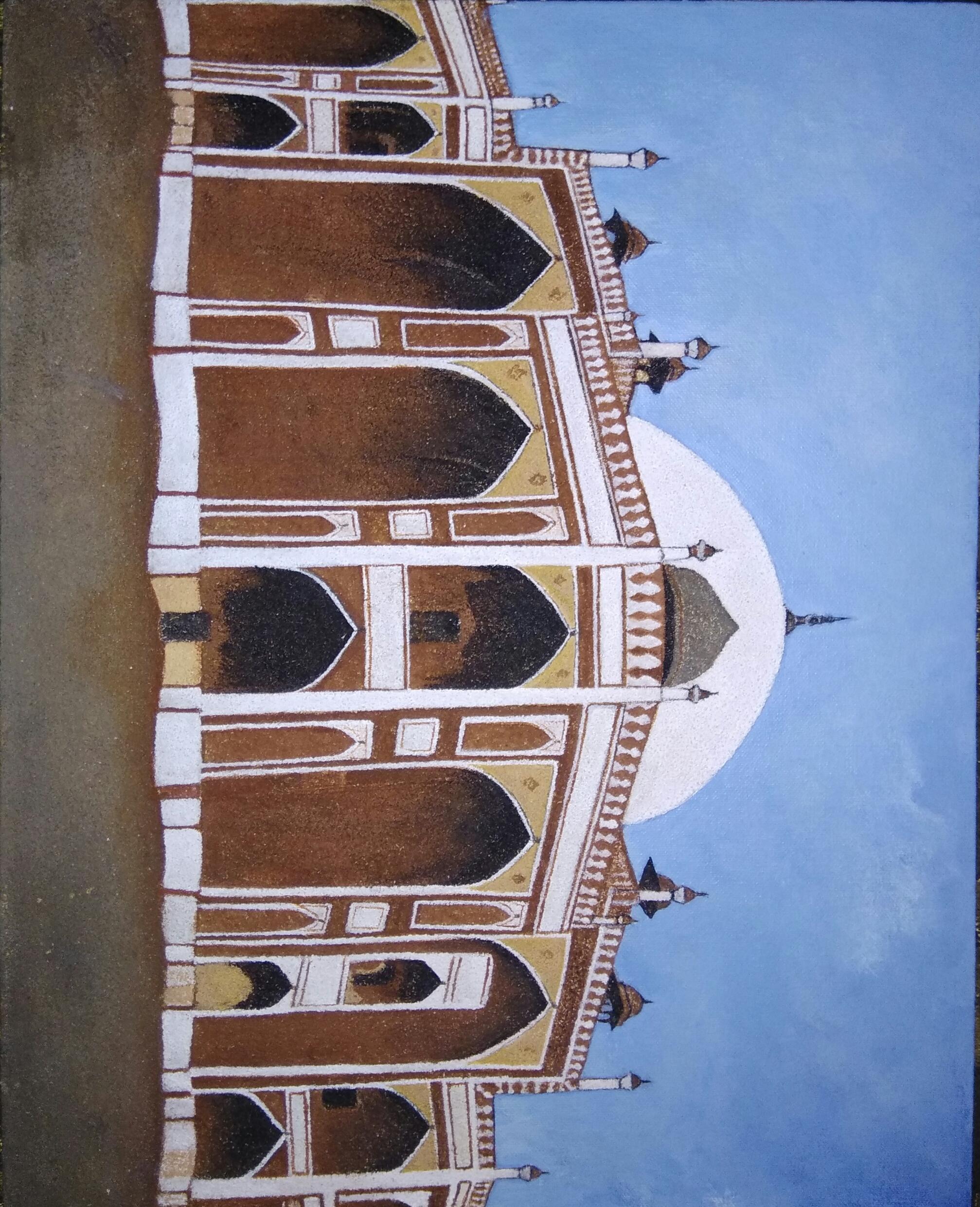 Humayuns Tomb Fine Art