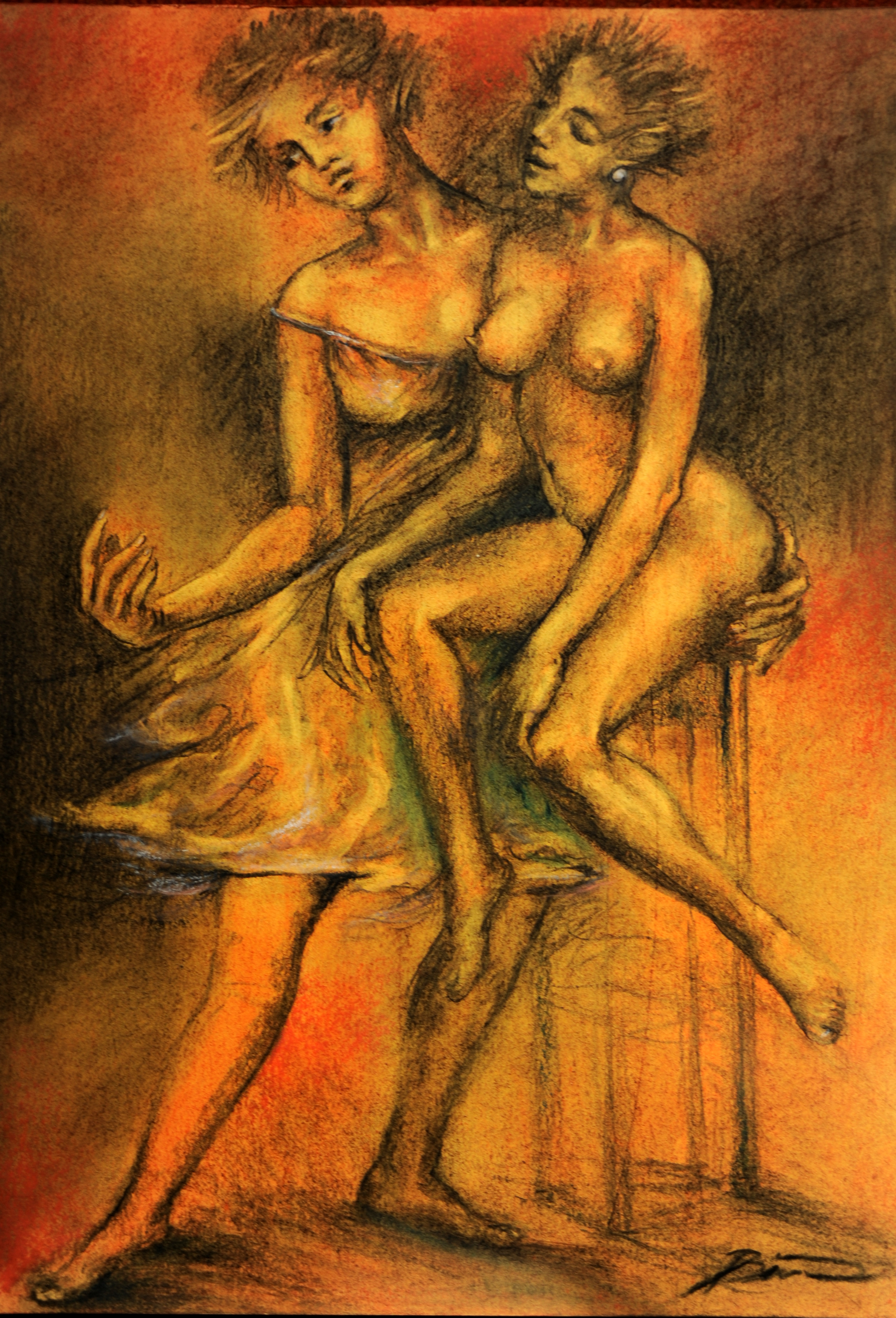 Nude Painting Online Sale