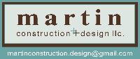 Website for Martin Construction & Design, LLC