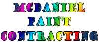 Website for McDaniel Paint Contracting, Inc.