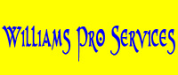 Website for Williams Pro Services, LLC