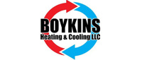 Website for Boykins Heating & Cooling, LLC