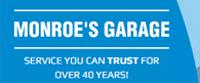 Website for Monroe's Garage Inc.