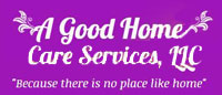 Website for A Good Home Care Services, LLC
