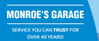 Website for Monroe's Garage Inc.