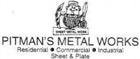 Website for Pitman's Metal Works, Inc