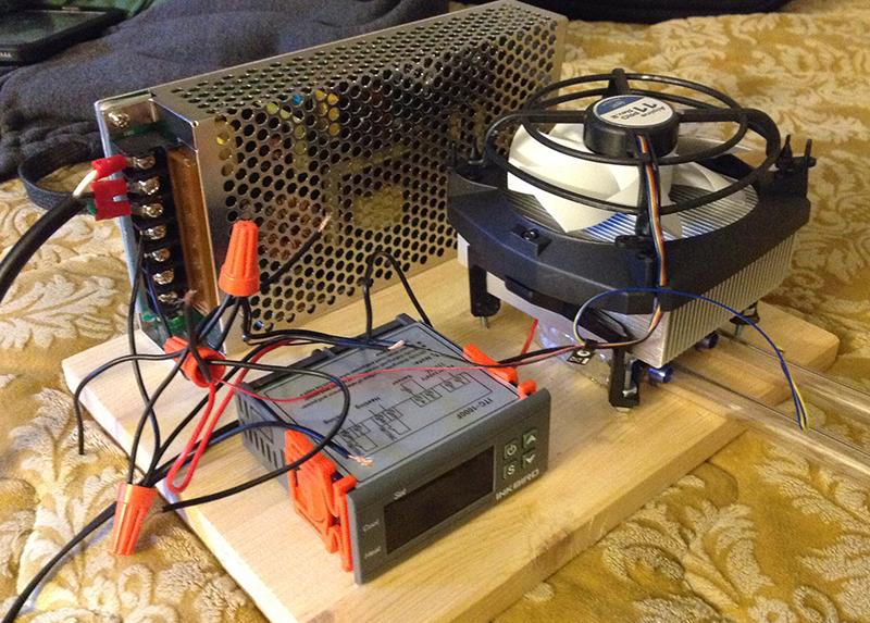 DIY Dual Peltier Thermoelectric Aquarium Chiller - DIY - The