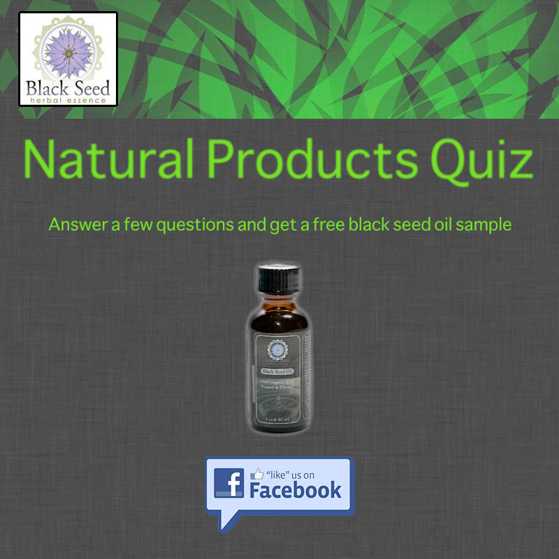 FREE Black Seed Oil Sample...