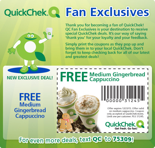 FREE medium Gingerbread Cappuc...