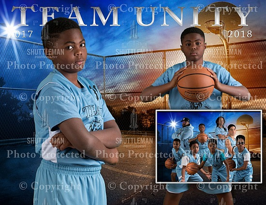 Team Unity Basketball Pictures Ready to Order