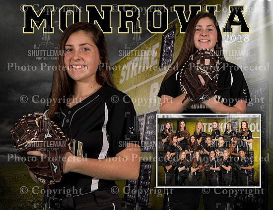 Monrovia Middle School Softball Pictures Ready!!!