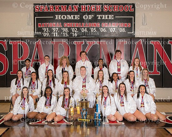 Sparkman Varsity Competition Cheerleader Pictures Ready for Purchase!!!