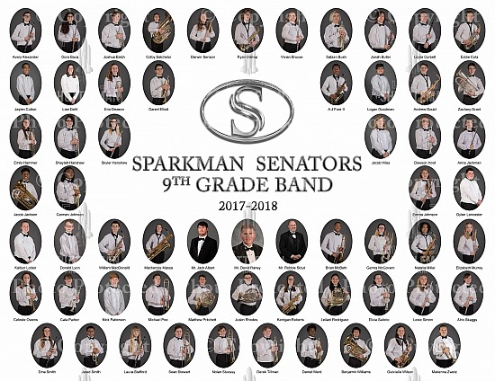 Sparkman Band Formal Photos Ready to order!!!