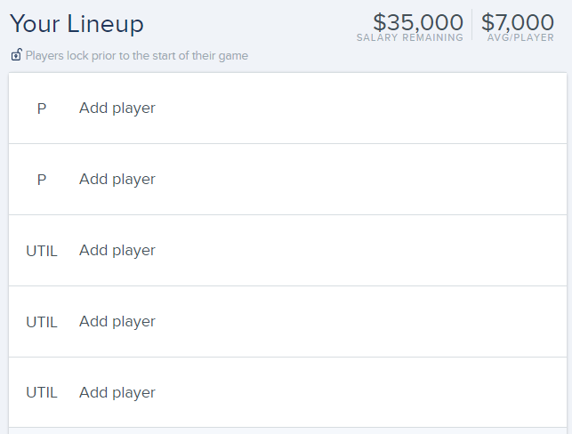 Brave the Weather: FanDuel Daily Fantasy MLB Mixup Strategy
