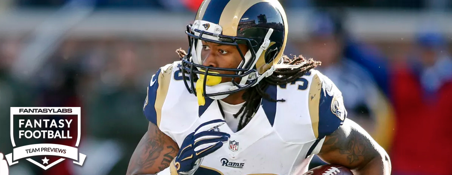 official photos c3876 5c4cb Los Angeles Rams: NFL Daily Fantasy DraftKings & FanDuel ...