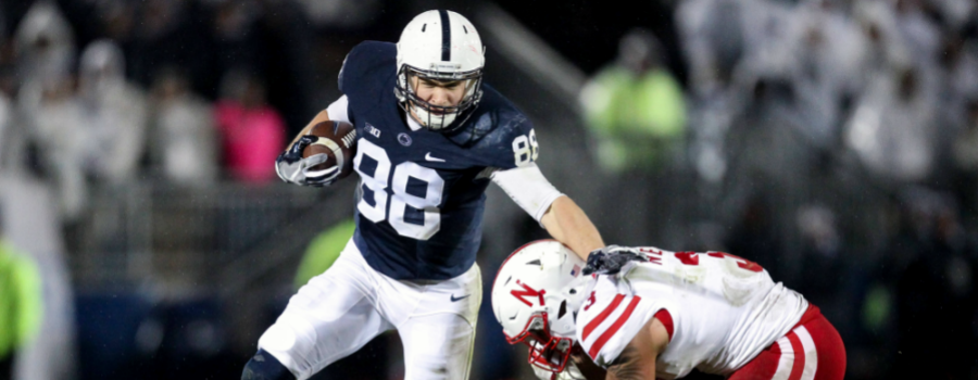 lowest price 9795a 5f08b Mike Gesicki & 2018 NFL Draft: Fantasy DraftKings & FanDuel ...