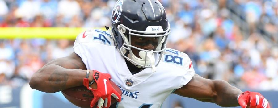 Corey-Davis-NFL-DFS-Leverage-Plays
