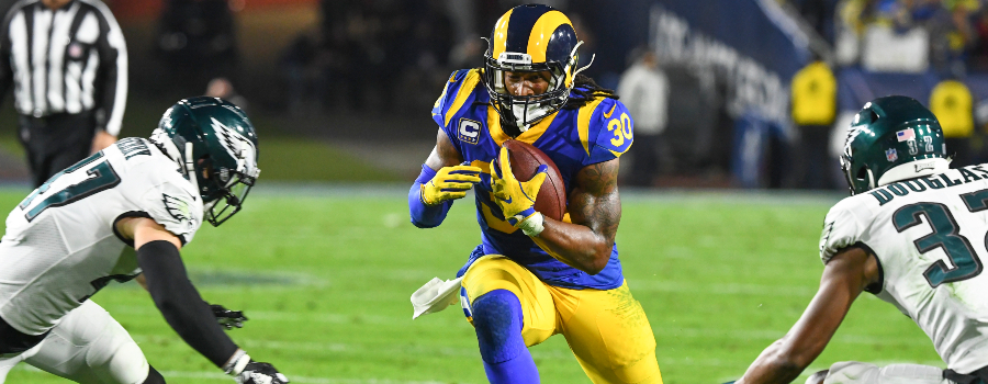 e4c00adfb87 Divisional Round NFL Fantasy RB Breakdown: Is Todd Gurley Finally Back?