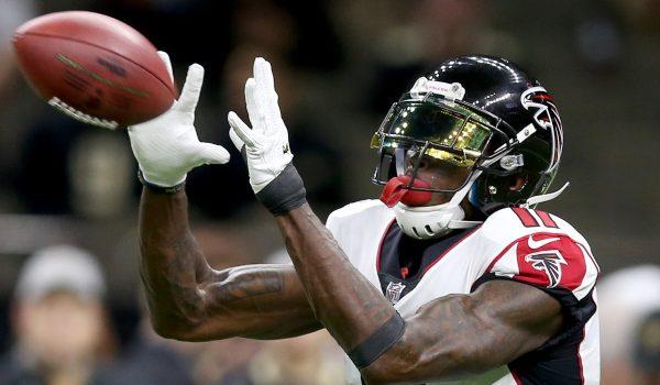 nfl week 1 fantasy breakdown-wide receivers-dfs picks-draftkings and fanduel-julio jones