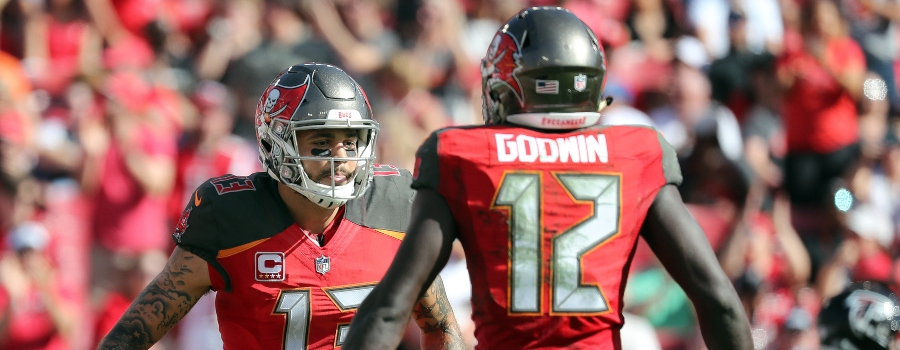 nfl funnel ratings-week 1 2019-bucs vs. 49ers-mike evans and chris godwin