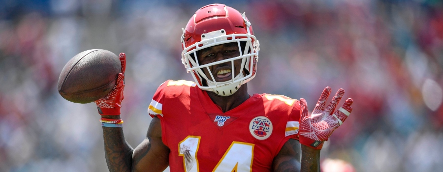nfl dfs week 2 breakdown-wide receivers-fanduel and draftkings picks-sammy watkins